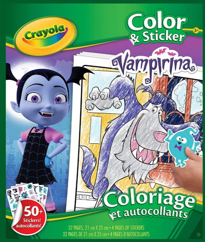 Vampirina Colour and Sticker Book.